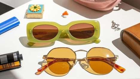 Luxury 90s-Themed Sunglasses