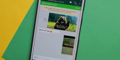 Messaging App Video Functions