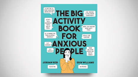 Anxiety Relief Activity Books