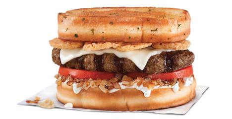 Garlicky Bacon Burgers Garlic Butter Bacon Burger