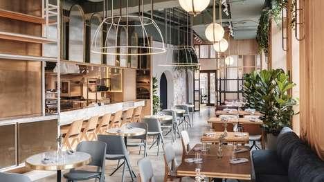 Cinema-Inspired Restaurant Interiors