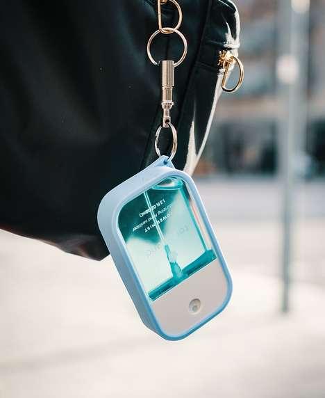 Portable Keyring Sanitizers