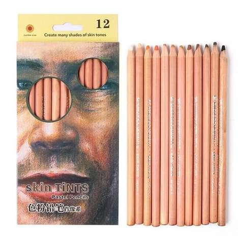 Skin-Toned Sketch Pencils