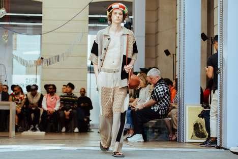 Outlandish Knit Fashion Runways