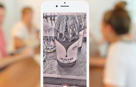 Painterly AR Wine Apps