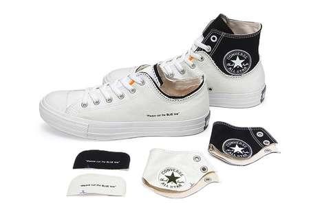 Custom-Friendly Duo-Layered Sneakers