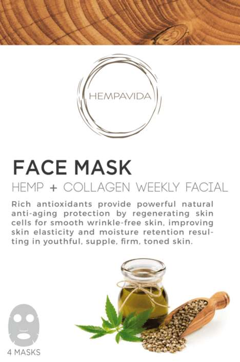 Soothing Hemp Face Masks