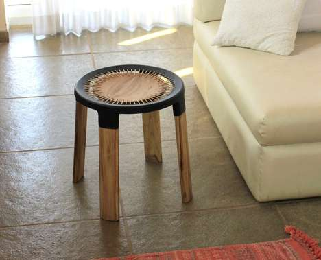 Artisan-Supporting Stools