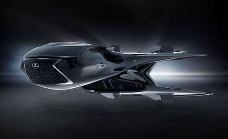 Automotive Brand Alien-Fighting Jets