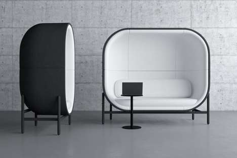 Enclosed Workspace Productivity Pods