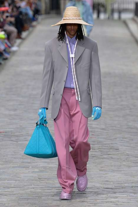 Luxury-Focused Pastel Clothing