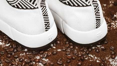 Coffee-Made Waterproof Sneakers