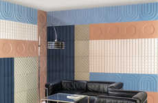 Colorful Bauhaus-Inspired Tiles