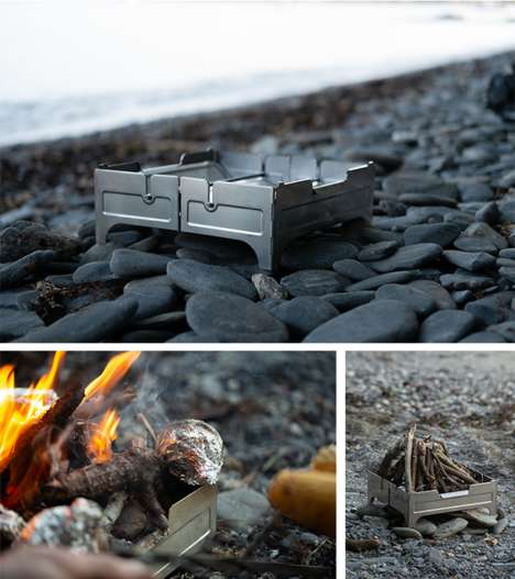 Pocket-Sized Portable Fire Pits