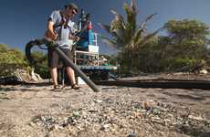 Plastic-Cleaning Beach Vacuums