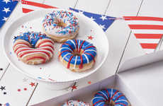 Patriotic Summer Donuts