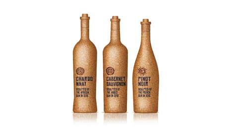 All-Cork Wine Bottles
