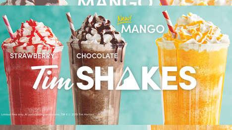 Creamy Mango Milkshakes