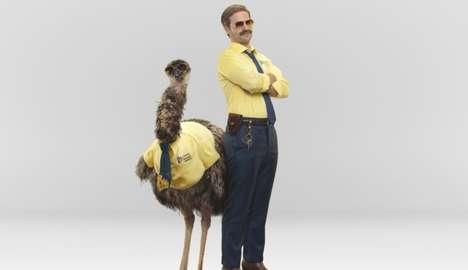 Emu Insurance Mascot Ads