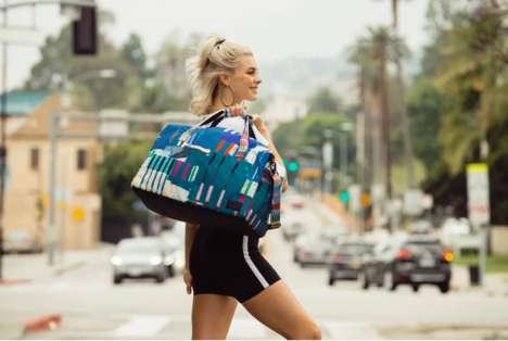 Abstract Art-Inspired Bag Collections