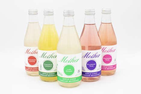 Sparkling Vinegar Beverages