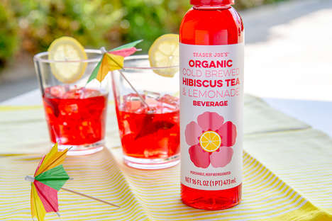 Hibiscus Lemonade Drinks