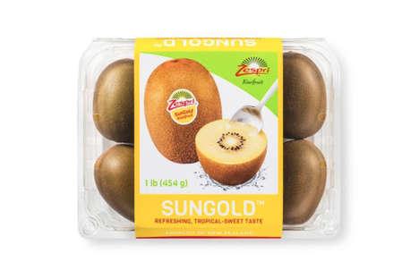 Gold-Colored Kiwi Fruits
