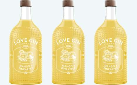 Fresh Fruit-Forward Gin Liqueurs