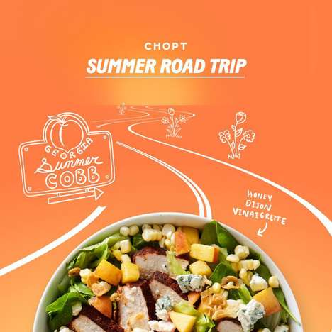 Road Trip-Inspired Salads