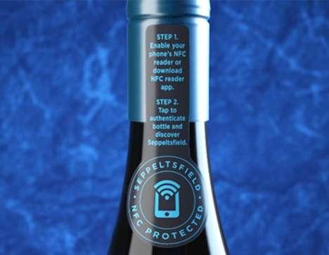 NFC Wine Bottle Tags
