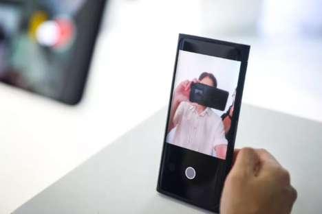 Screen-Integrated Mobile Phones