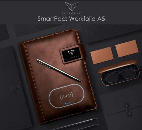 Dapper High-Tech Portable Workstations