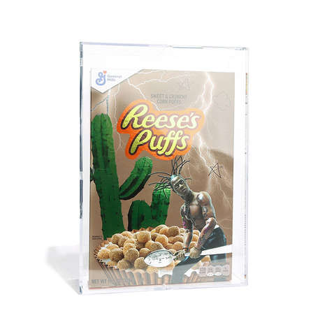 Rapper-Branded Cereal Boxes