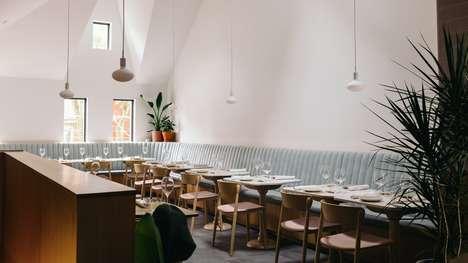 Modern Earthy Restaurant Designs