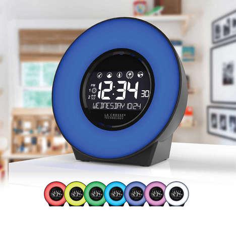 Mood Light Alarm Clocks