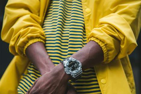 Transparent Case Digital Watches
