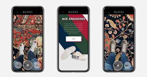 AR Luxury Sneaker Apps