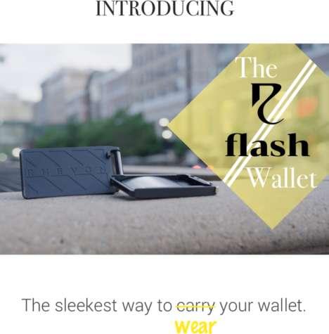 Wearable Anti-Theft Wallets