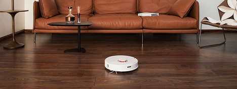 Intelligently Routed Robot Vacuums
