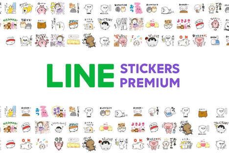 Digital Sticker Subscriptions
