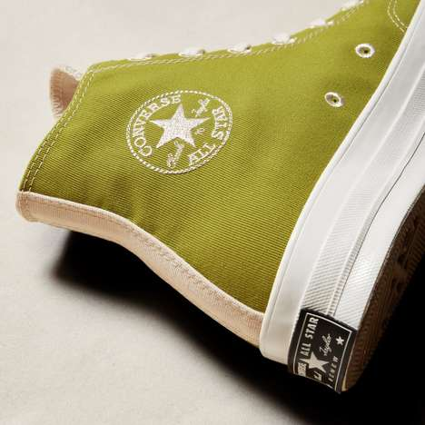 Sustainable High-Top Sneakers