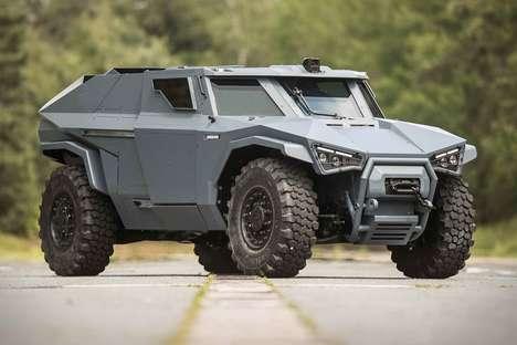Stealth Hybrid Military Vehicles