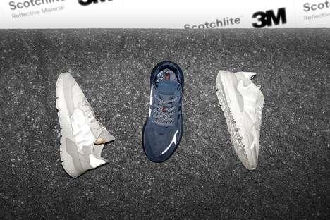 Reflective Night Running Sneakers