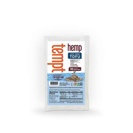 Hemp-Based Tofu Blocks