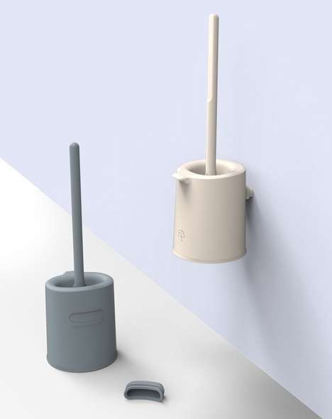 Bio-Based Bathroom Brushes