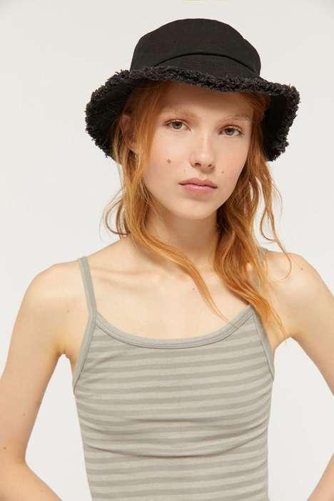 Frayed Bucket Hats