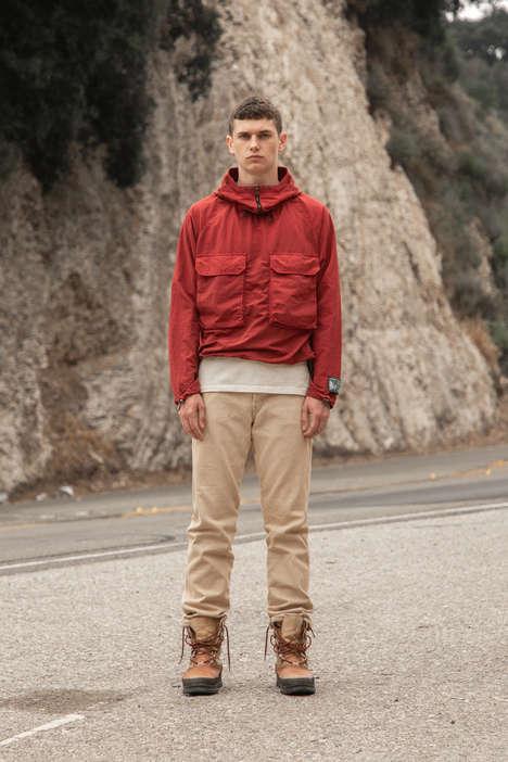 Slick Postal Service-Inspired Fashion