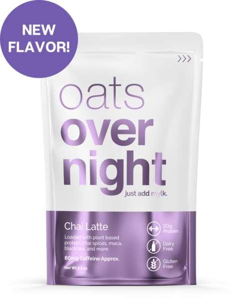 Caffeinated Overnight Oats