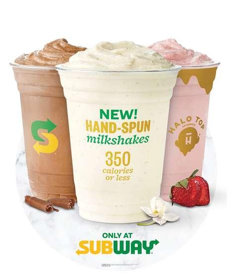 Hand-Spun Protein Milkshakes