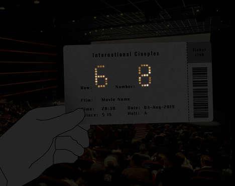 See-Through Ticket Stubs